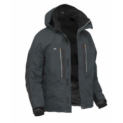 Dozer6 kabát fekete