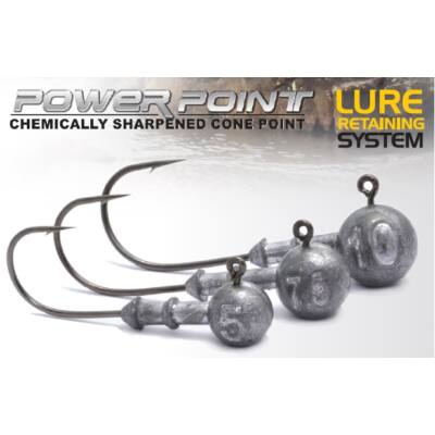 Power Jighead Round twisterfej