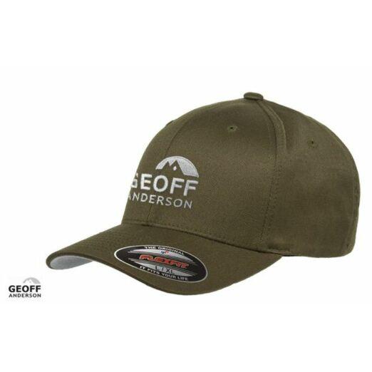 Geoff Anderson Flexfit Olive baseball sapka