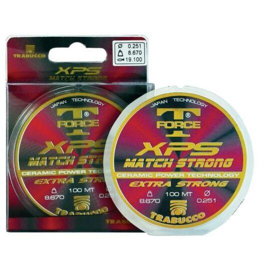 Trabucco T-Force Xps Match Strong 25 m 0,08 mm előkezsinór