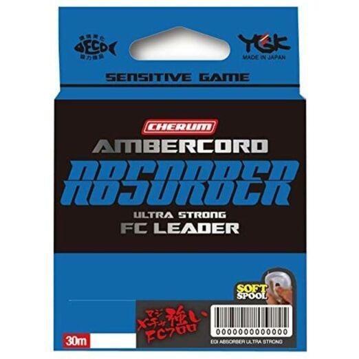 YGK Ambercord Absober Ultra Strong 30m előke zsinór